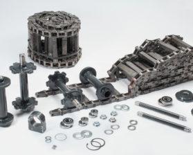 Запасні частини до асфальтоукладачів ABG TITAN